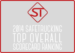 2014 Safe Trucking Award